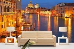 Имитация Венеции в стиле помещения
