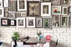 Стена под семейные фото