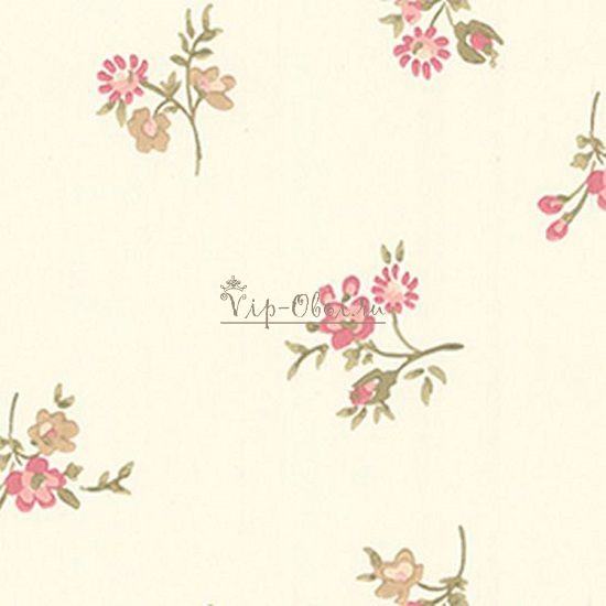 Обои Spell Bound 50-452 бренда Graham & Brown с розово-кремовыми цветами .