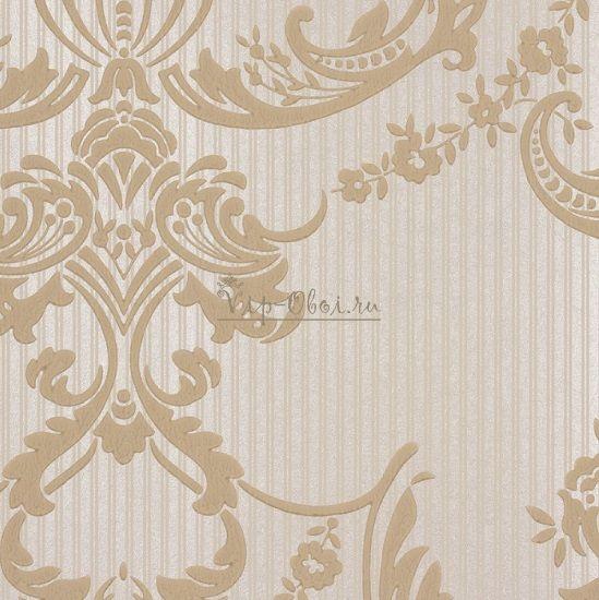 Обои Spell Bound 50-468 бренда Graham & Brown Palace в бежевых и кремовых цветах.