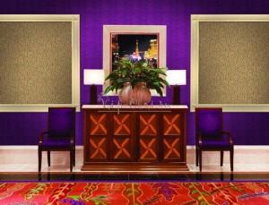 Комбинированные обои для гостиной в виде обойных вставок