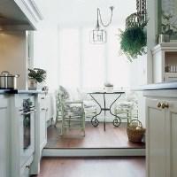 Увеличение кухни за счет балкона: фото