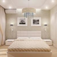 Дизайн интерьера маленькой спальни: фото