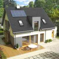 Проект загородного дома: фото
