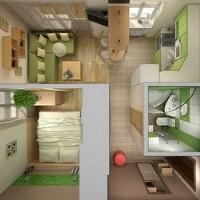 Планировка малогабаритной квартиры: фото