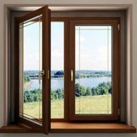 Преимущества деревянных окон: фото