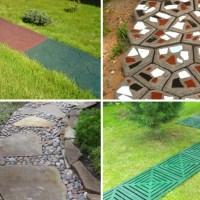 Виды материалов для садовой дорожки: фото