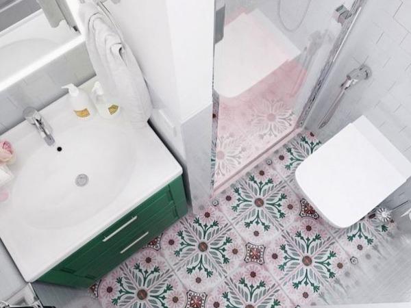 Размещение сантехники в небольшой комнате